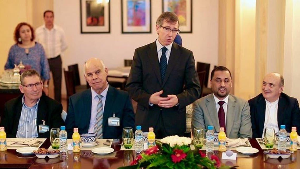 ليون والأطراف الليبية يفطرون على مائدة رمضانية واحدة