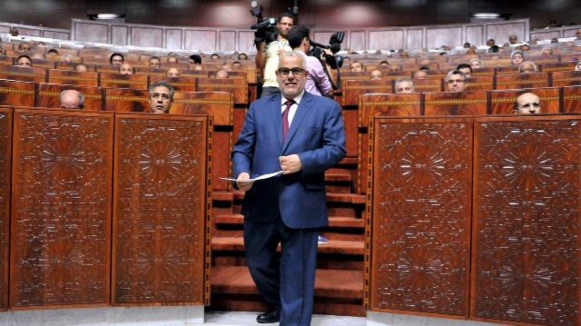 عبد الإله بن كيران رئيس الحكومة، والأمين العام لحزب العدالة والتنمية الإسلامي
