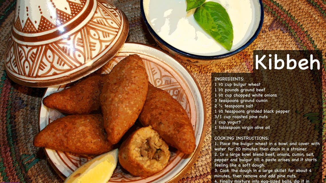 Liven up Ramadan with delicious dishes from the Mideast: Kibbeh
