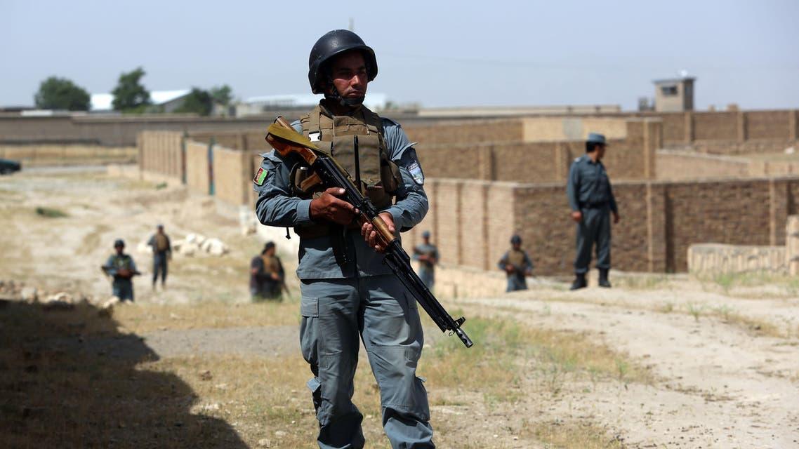 Afghan police patrol on the outskirts of Kunduz, north of Kabul, Afghanistan. (File Photo: AP)