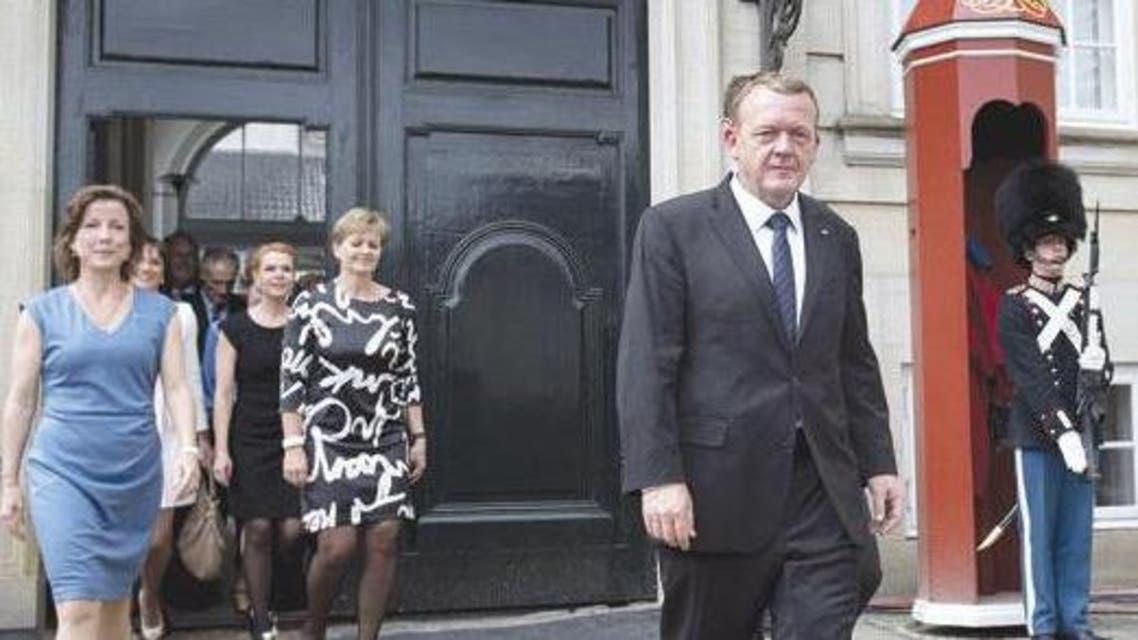 رئيس وزراء الدنمارك لارس لوكه