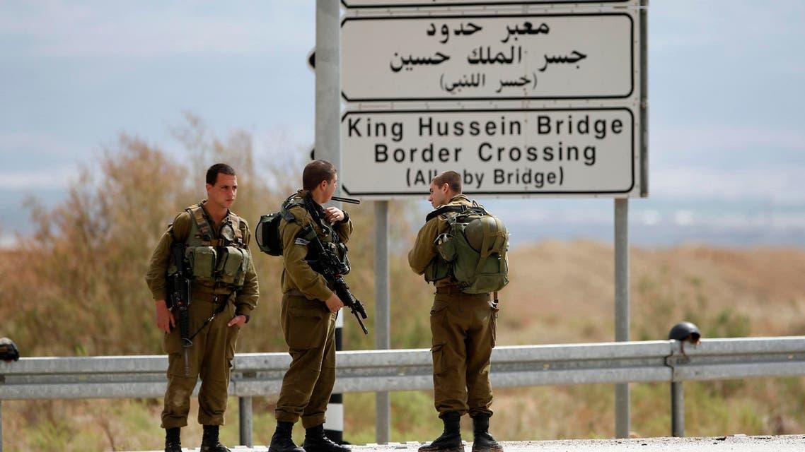 الحدود الأردن إسرائيل