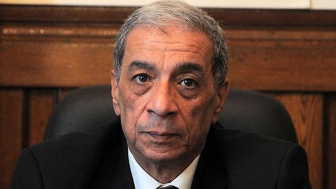 Top prosecutor Hisham Barakat and his bodyguards had been taken to hospital. (Courtesy: Cairo Post/Hossam Atef)