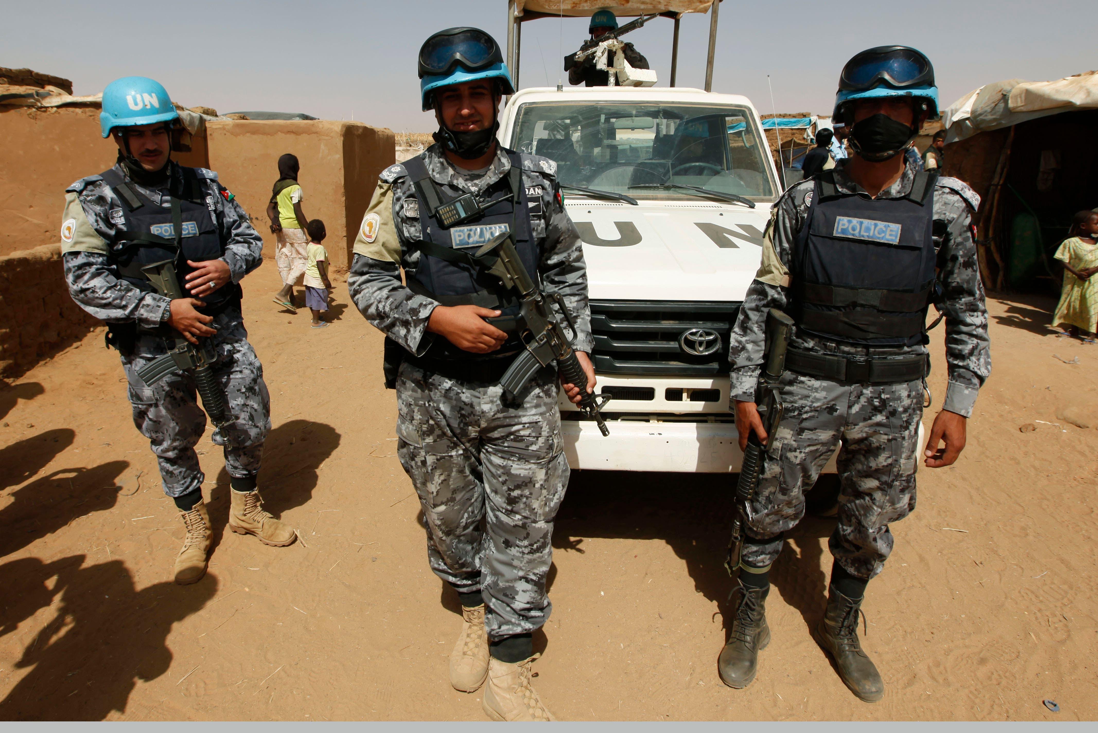 قوات حفظ السلام الأممية في دارفور (أرشيفية)