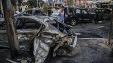 مصر: کار بم دھماکے میں تین افراد ہلاک