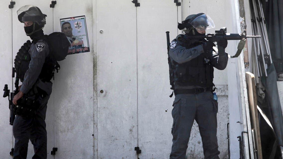 Isreal border police - AP