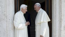 Rare outing for Pope Benedict to summer residence