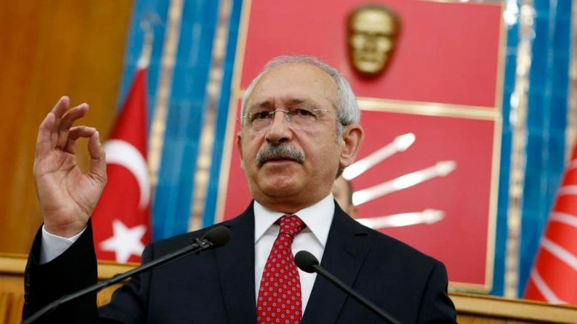 Republican People's Party (CHP) leader Kemal Kilicdaroglu warned against military action while coalition talks proceed. Reuters