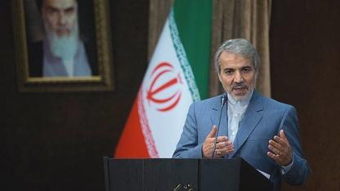 المتحدث باسم الحكومة الايرانية - محمد باقر نوبخت