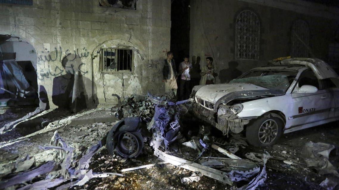 اليمن صنعاء انفجار
