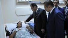 وزير داخلية مصر يزور المصابين في حادث النائب العام