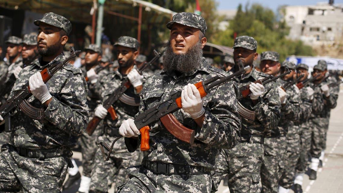 عرض عسكري ل حماس في غزة (أرشيفية)
