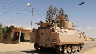 الجيش المصري يحبط هجوما في سيناء.. ويقتل 7 إرهابيين