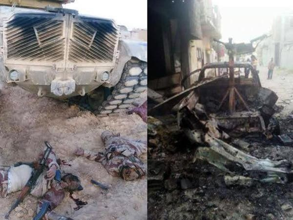 الجيش المصري يقتل 48 متطرفا في سيناء