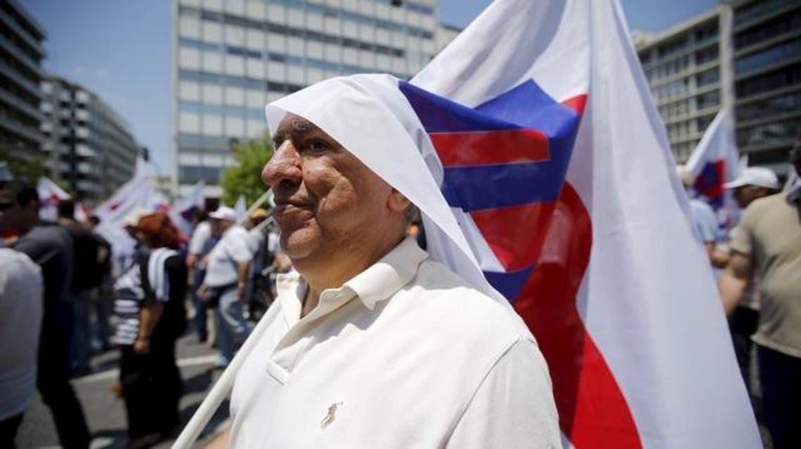 اليونان ديون مظاهرات
