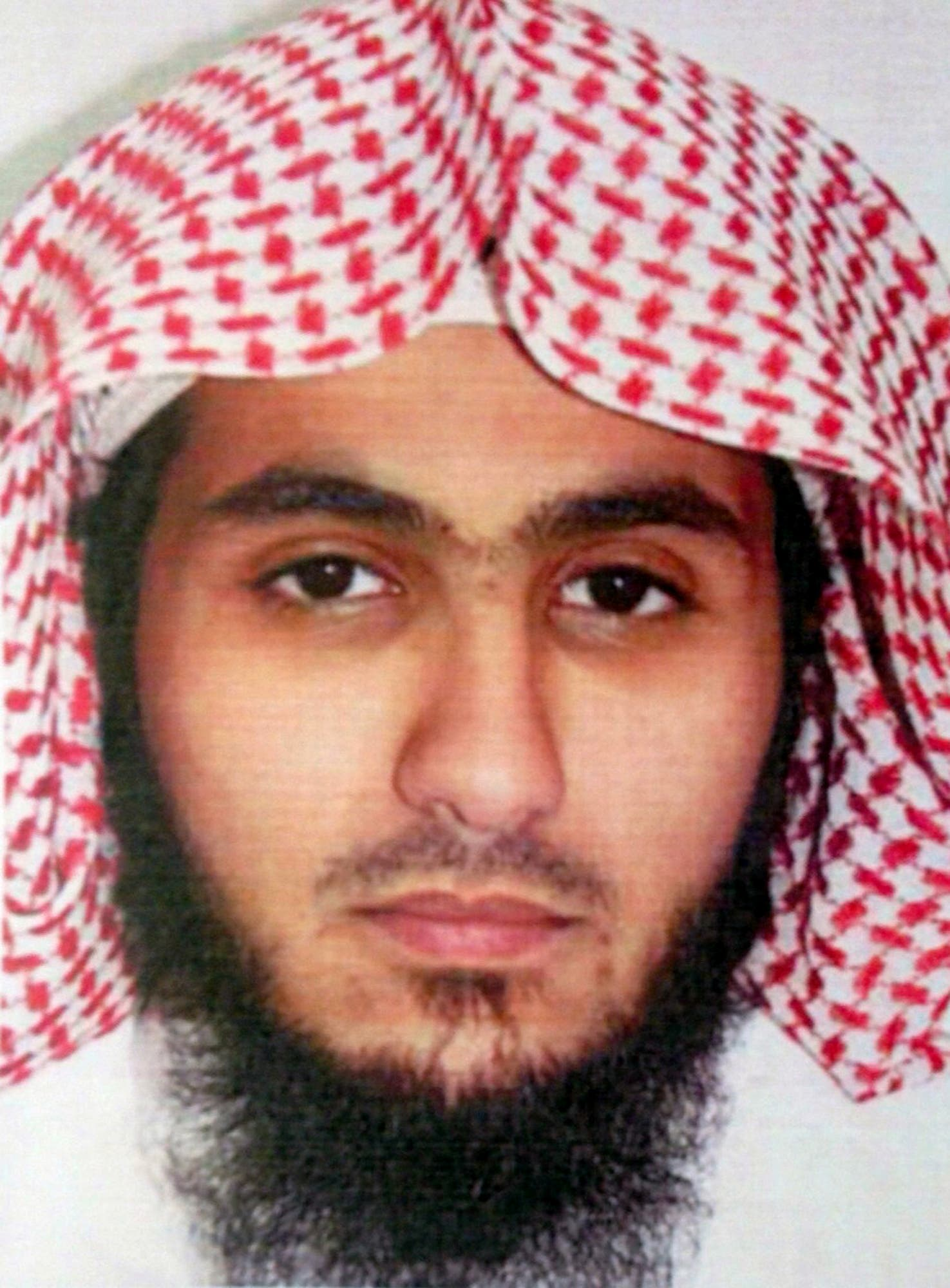 This undated file photo released by Kuwait News Agency, KUNA, on Sunday, June 28, 2015 shows Fahad Suleiman Abdulmohsen al-Gabbaa, who Kuwaiti authorities on Sunday identified al-Gabbaa as a Saudi citizen who flew into the Gulf nation just hours before he blew himself in an attack on one of Kuwait's oldest Shiite mosques during midday Friday prayers. Gulf officials said Monday, June 29, 2015 that he flew into the country after transiting through nearby Bahrain and had no background suggesting he planned to carry out a terrorist attack. (KUNA via AP, File)