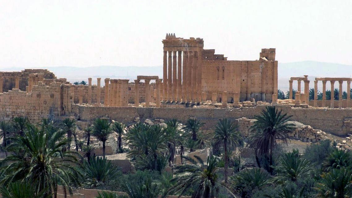 This file photo released on Sunday, May 17, 2015, by the Syrian official news agency SANA shows the general view of the ancient Roman city of Palmyra, northeast of Damascus, Syria. Members of the Islamic State group have captured the ancient town raising fears that the extremists will destroy its archaeological sites that have stood for two millennia. Palmyra, home to one of the Middle East's most famous UNESCO world heritage sites, was under full control of militants on Thursday after troops withdrew to nearby bases. (SANA via AP, File)