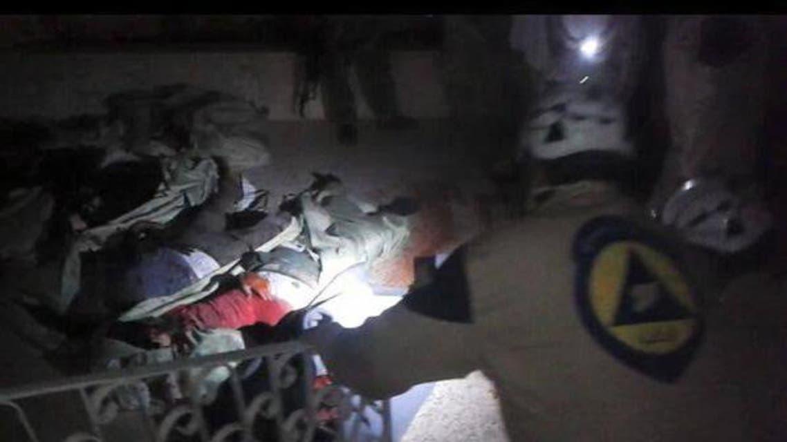 تفجير مسجد في إدلب