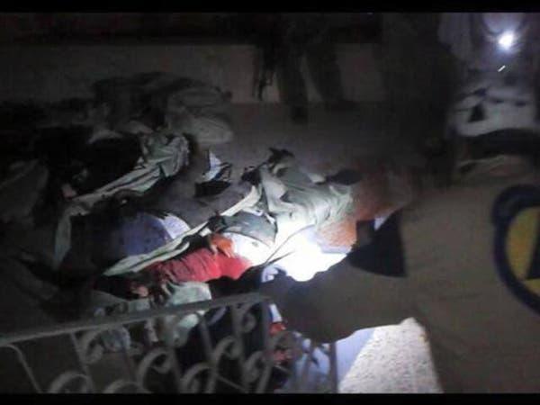 مقتل 25 عنصراً من النصرة بتفجير مسجد في إدلب