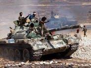 الحوثيون يستهدفون مخازن النفط في منطقة الضباب بتعز