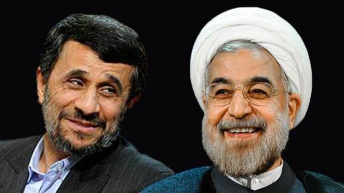 روحاني وأحمدي نجاد