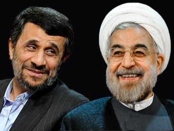 انتخابات إيران.. نجاد يهاجم روحاني ويدعم بقائي