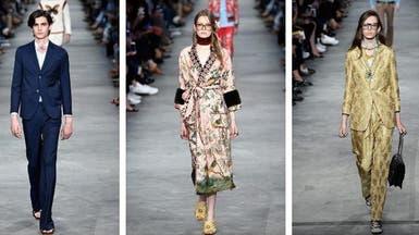 """أزهار الربيع تتفتّح على أزياء """"غوتشي"""" الرجالية"""
