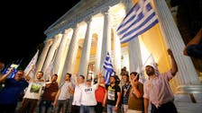 Euro drops against dollar after Greek referendum early results