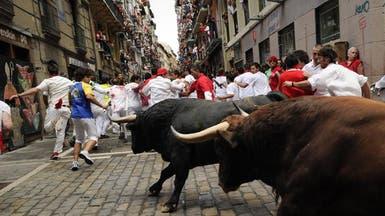 تظاهرات بإسبانيا ضد مهرجانات الثيران الهائجة