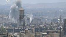 شامی فوج باغیوں کے زیر قبضہ الزبدانی میں داخل