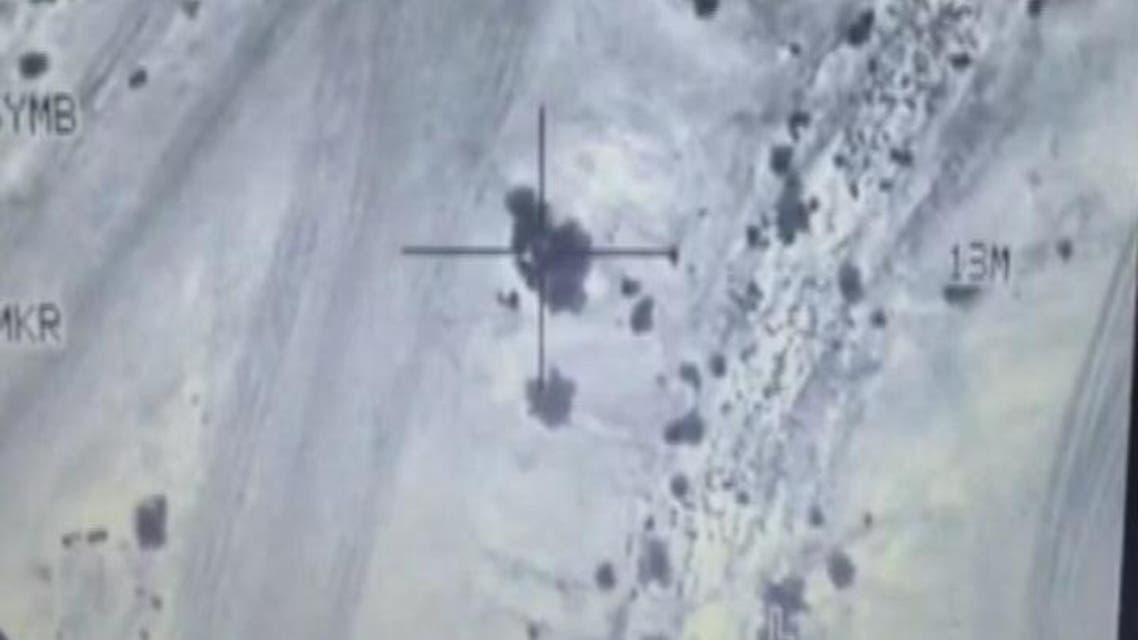 THUMBNAIL_ طيران التحالف يقصف معسكرات الدفاع الجوي في #صنعاء