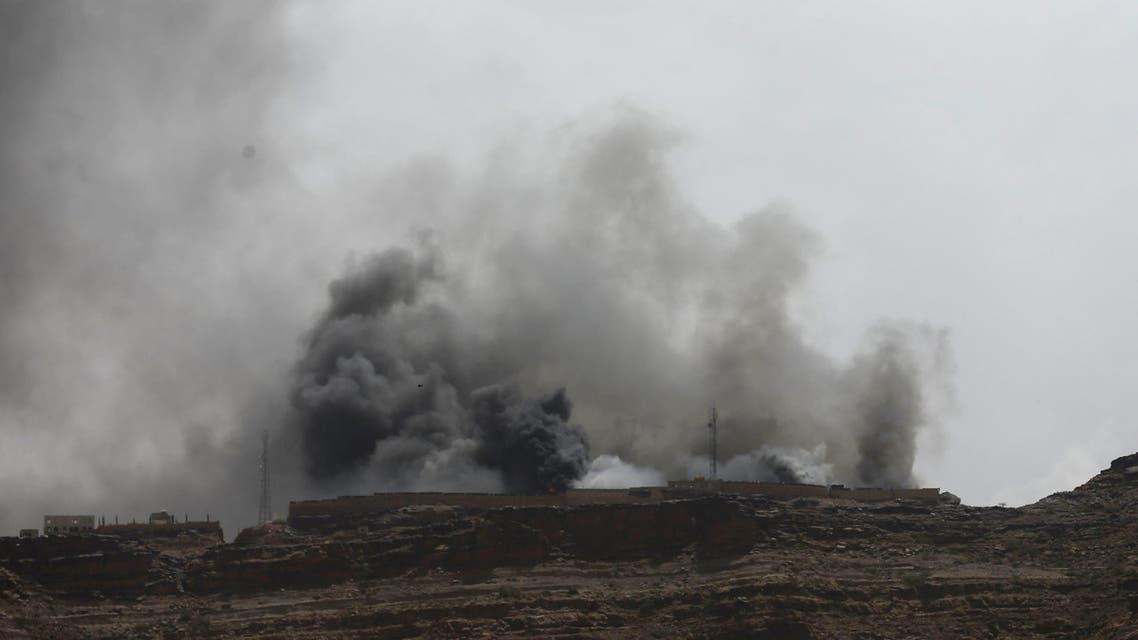 غارة للتحالف على صنعاء