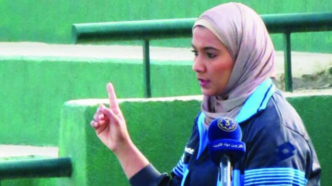Wimbledon's first Arab female umpire to officiate was worried that her wearing the hijab would provoke some fans and thus caused her worry