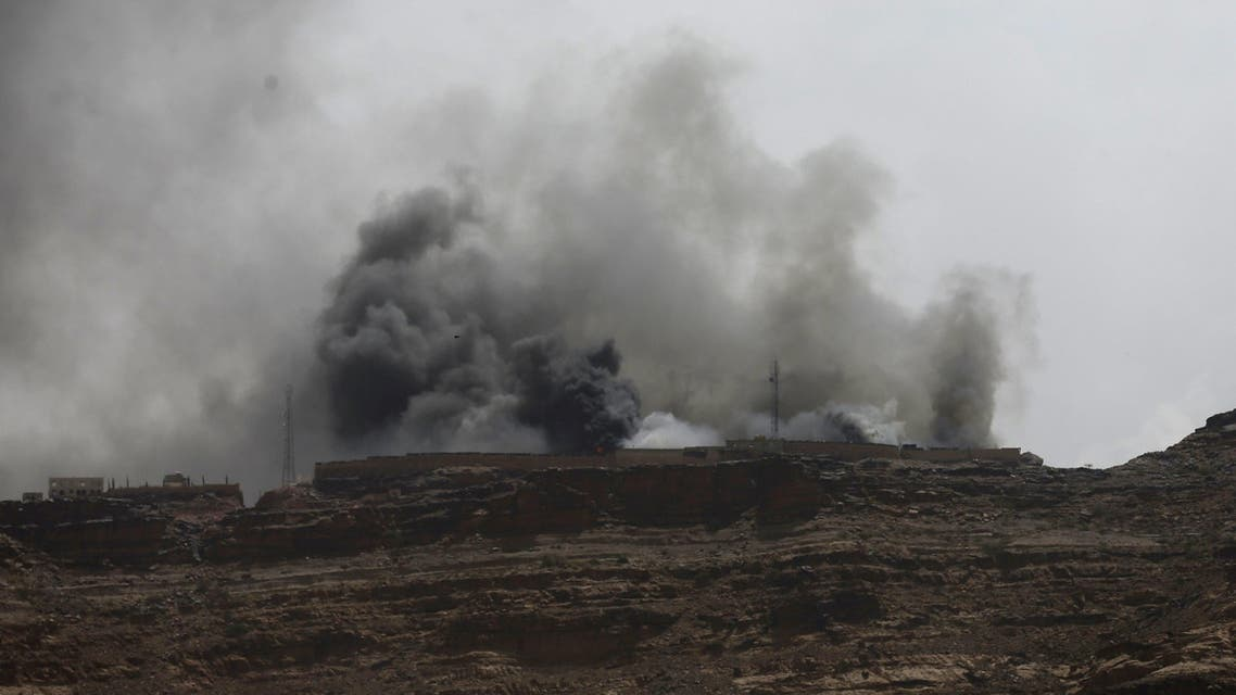 Smoke billows from the site of a Saudi-led air strike in Yemen's capital Sanaa July 2, 2015. (Reuters)
