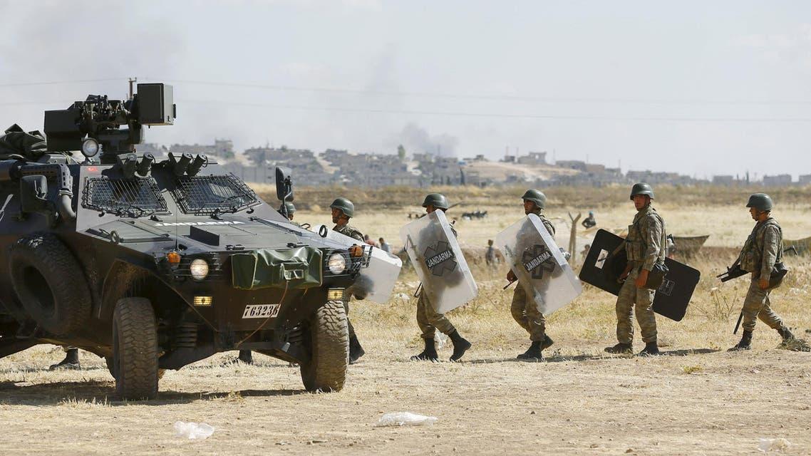 جنود أتراك - الحدود التركية السورية - تركيا - سوريا 3