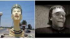 'Frankenstein' Nefertiti statue removed after online uproar
