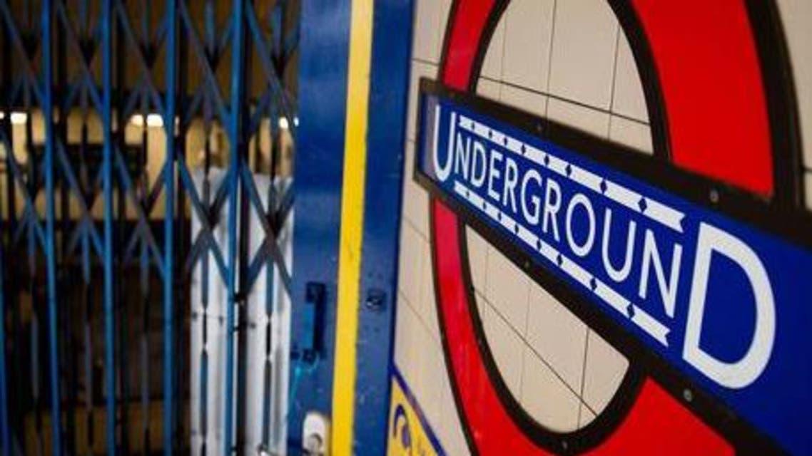 London tube AFP