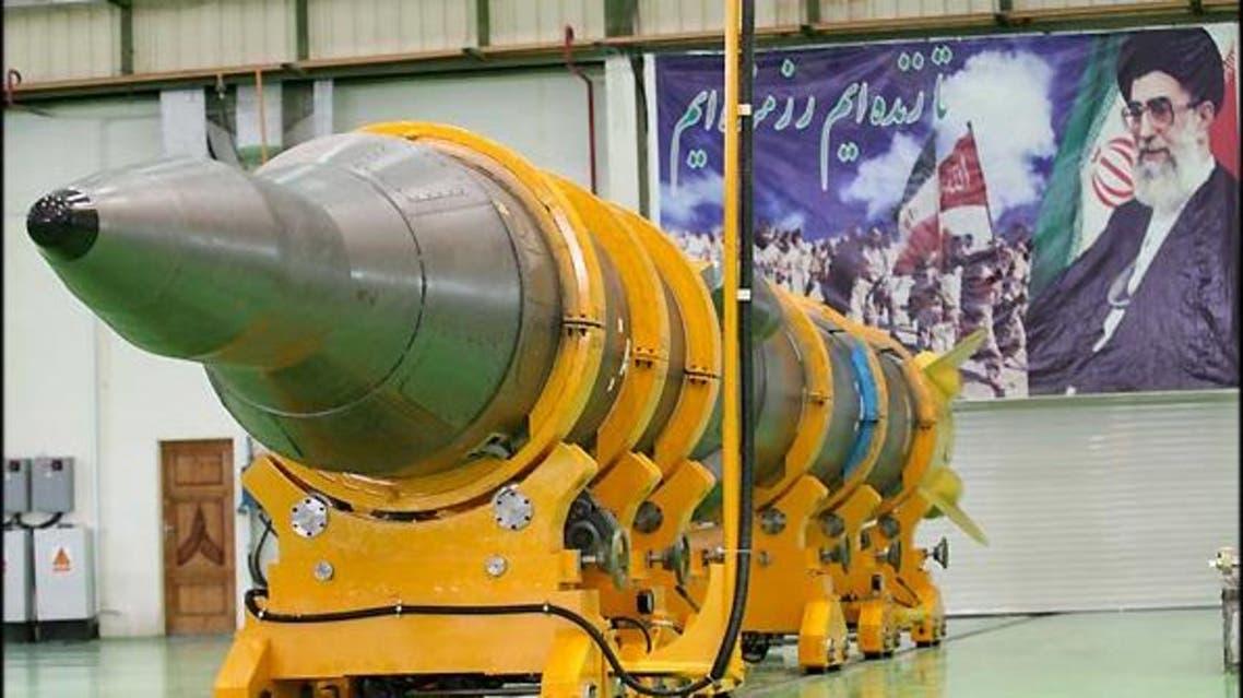 برنام إيران الصاروخي