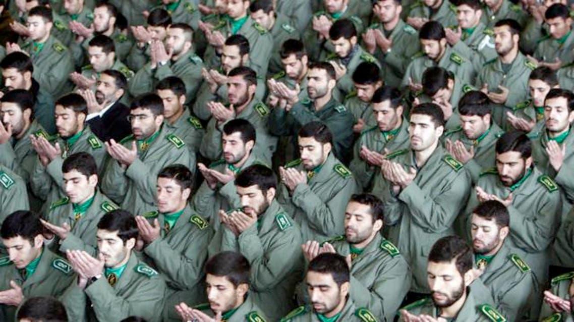 عناصر تتبع الحرس الثوري الايراني