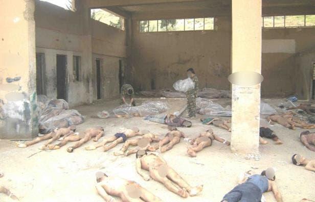 معتقلون في سجون الأسد(أرشيفية)