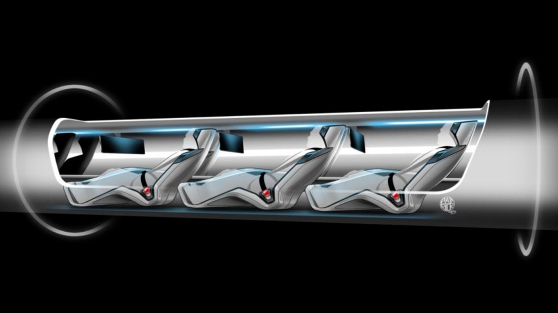 Image credit: Hyperloop / Tesla Motors.