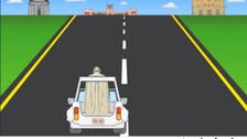 'Papa Road:' Pope tackles obstacle course in video game