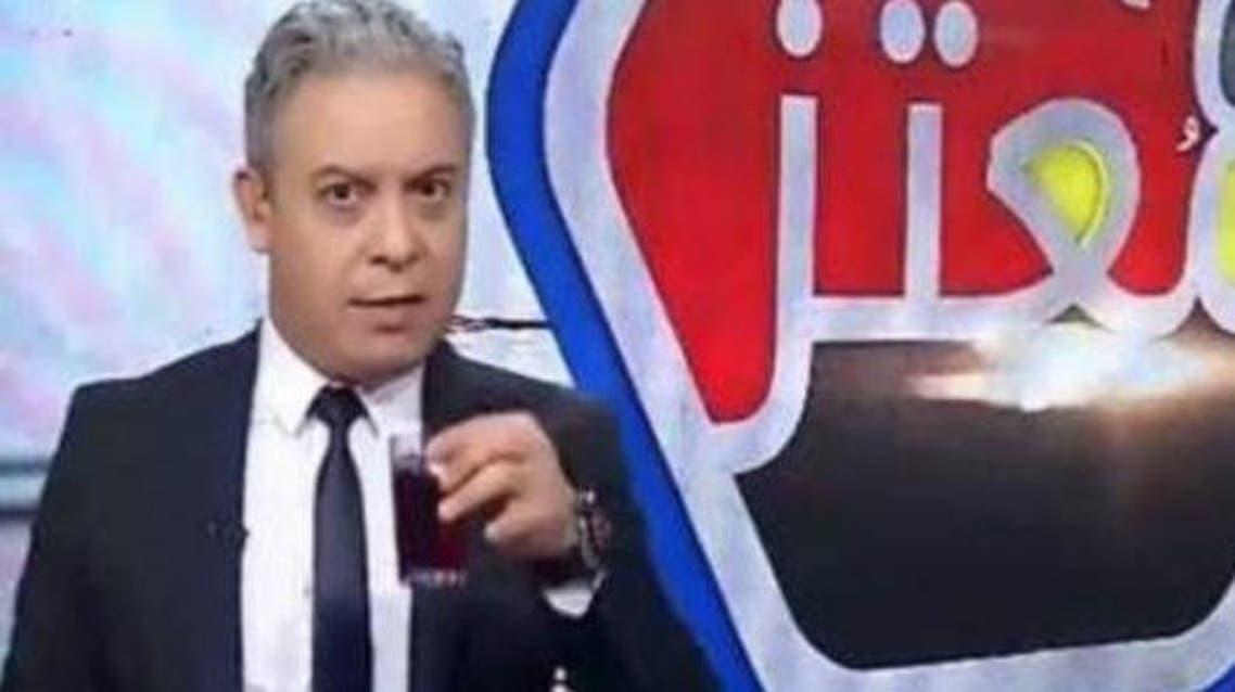 Egyptian television host Moataz Matar (Twitter)