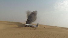 Dubai skydiving plane makes emergency landing, no one hurt
