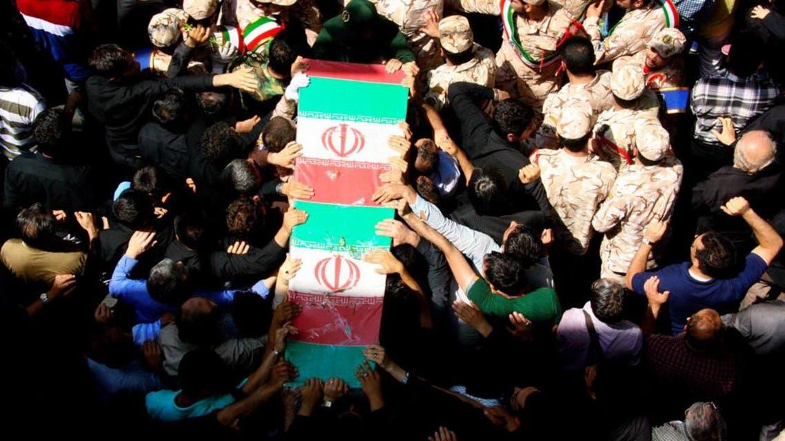 تشييع افغاني في ايران