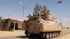 Egypt army says 40 militants killed in Sinai since September