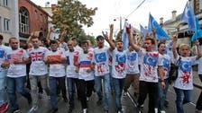 Uighurs protesters assault Thai Consulate in Istanbul