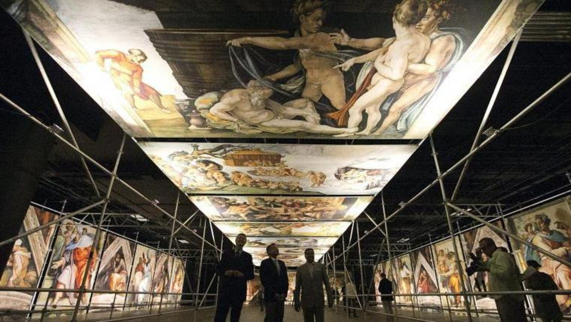 Sistine Chapel recreated in Montreal