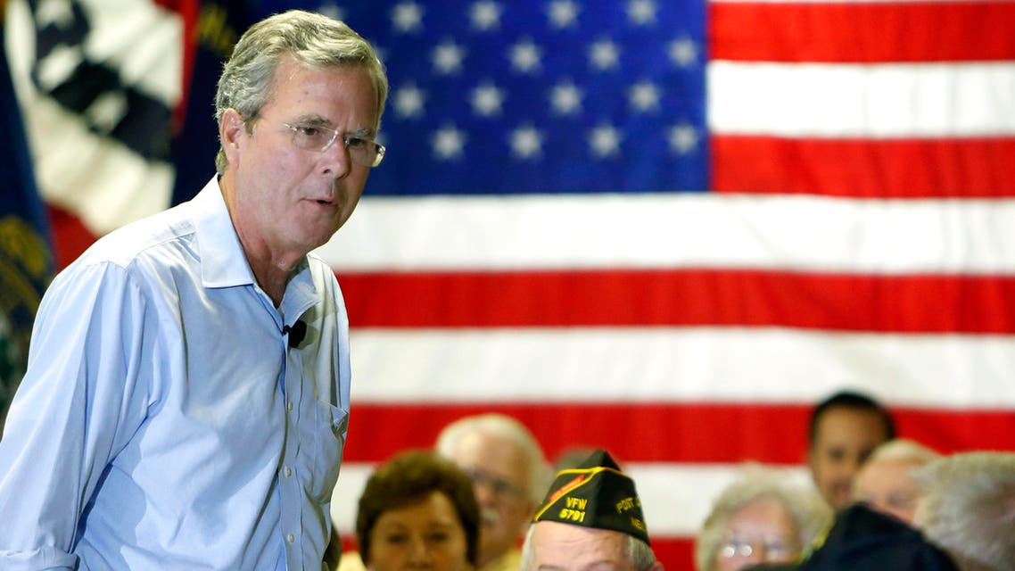 Republican presidential candidate former Florida Gov. Jeb Bush speaks at a town hall meeting Wednesday, July 8, 2015, in Hudson, N.H. (AP