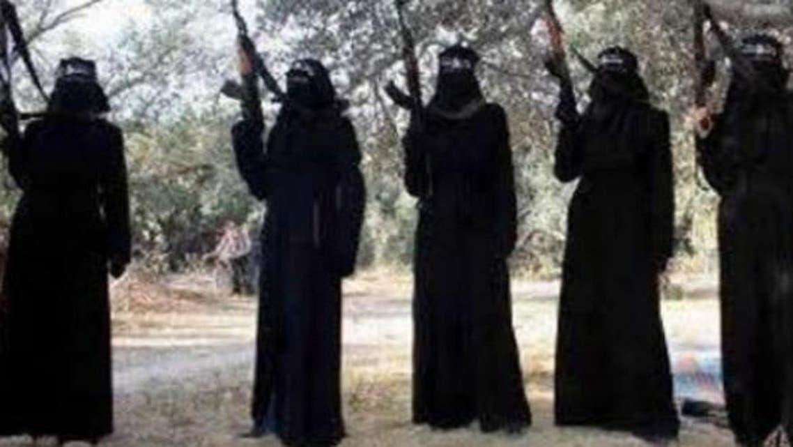 نساء داعش في سوريا